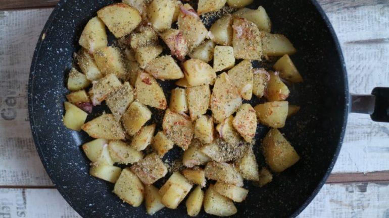 Rezept für Bratkartoffeln