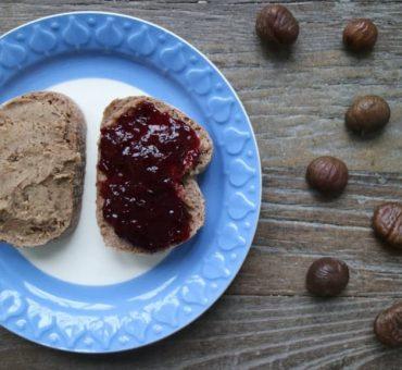Maronen-Aufstrich mit Erdnussmus