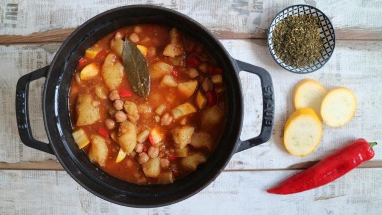 Orientalischer Kartoffel-Eintopf