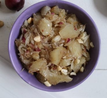 Pomelo-Salat mit Erdnüssen