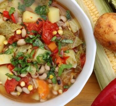 Aromatische Gemüsesuppe