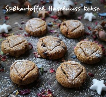 Süßkartoffel-Haselnuss-Kekse