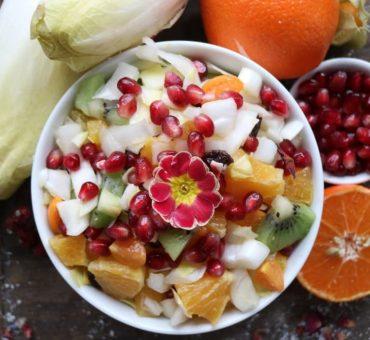 Chicorée Salat mit Früchten
