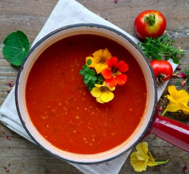 Ofengeröstete Tomatensoße vom Blech